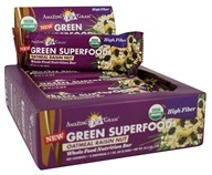 Amazing Grass - Green Superfood Whole Food Nutrition Bar Oatmeal Raisin Nut - 2.1 oz.
