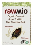 Rawmio - Organic Gourmet Raw Chocolate Bark Super Trail Mix - 2.2 oz.
