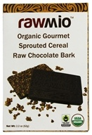 Rawmio - Organic Gourmet Raw Chocolate Bark Sprouted Cereal - 1.76 oz.