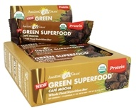 Amazing Grass - Green Superfood Whole Food Nutrition Bar Cafe Mocha - 2.1 oz.