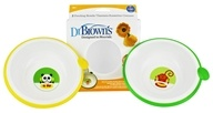Dr. Brown's - Designed to Nourish Feeding Bowls 6m+ - 2 Pack
