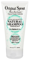 Original Sprout - Natural Shampoo for Babies & Up - 4 oz.