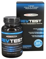 RevLabs - RevTest All Natural Testosterone Booster - 60 Capsules