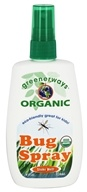 Greenerways Organic - Bug Spray - 4 oz.