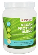 MCT Lean - Vegan Protein Blend with Broccoli Seed Extract & MCT Natural Vanilla - 19.7 oz.