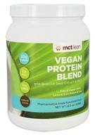 MCT Lean - Vegan Protein Blend with Broccoli Seed Extract & MCT Natural Cocoa - 22.5 oz.