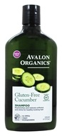 Avalon Organics - Shampoo Gluten Free Replenishing Cucumber Fragrance Free - 11 oz.