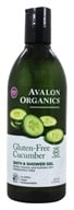 Avalon Organics - Bath & Shower Gel Gluten-Free Cucumber Fragrance Free - 12 oz.