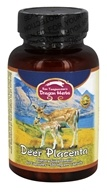 Dragon Herbs - Deer Placenta 500 mg. - 60 Vegetarian Capsules