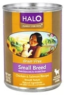 Halo Purely for Pets - Grain-Free Canned Dog Food For Small Breeds Chicken & Salmon Recipe - 13.2 oz.