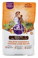 Halo Purely for Pets - Spot's Stew Grain-Free Cat Formula Hearty Chicken Recipe - 3 lbs.
