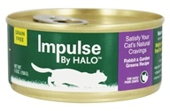 Impulse by Halo - Canned Cat Food Rabbit & Garden Greens Recipe - 5.5 oz.