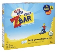 Clif Bar - Kid Z-Bar Organic Iced Lemon Cookie - 6 Bars