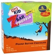 Clif Bar - Kid Z-Bar Protein Peanut Butter Chocolate - 5 Bars