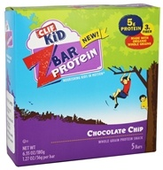 Clif Bar - Kid Z-Bar Protein Chocolate Chip - 5 Bars