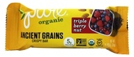 PureBar - Pure Organic Ancient Grains Nut Bar Triple Berry - 1.23 oz.