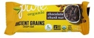 PureBar - Pure Organic Ancient Grains Crispy Bar Chocolate Chunk Nut - 1.23 oz.