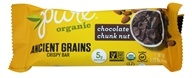 PureBar - Pure Organic Ancient Grains Nut Bar Chocolate Chunk - 1.23 oz.