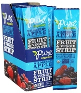 PureBar - Pure Organic Fruit & Veggie Strip Wildberry Apple - 0.49 oz.