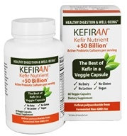 Lane Labs - Kefiran Kefir Nutrient Healthy Digestion & Well Being - 60 Vegetarian Capsules