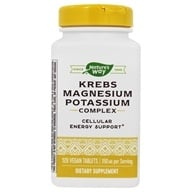 Enzymatic Therapy - Krebs Magnesium Potassium - 120 Tablets
