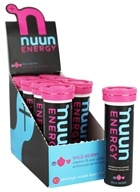 Nuun - Energy Vitamin B & Caffeine Enhanced Drink Tabs Wild Berry - 10 Tablets