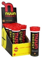 Nuun - Energy Vitamin B & Caffeine Enhanced Drink Tabs Cherry Limeade - 10 Tablets