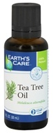 Earth's Care - 100% Pure Tea Tree Oil - 1 oz.