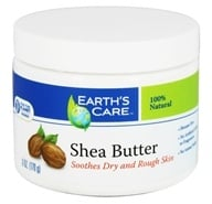 Earth's Care - 100% Pure Shea Butter - 6 oz.