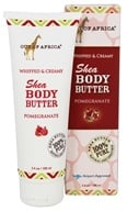 Out Of Africa - Shea Body Butter Whipped & Creamy Pomegranate - 3.4 oz.