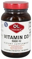 Olympian Labs - Vitamin D3 5000 IU - 100 Softgels
