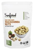Sunfood Superfoods - Raw Organic Macadamia Nuts 227 g. - 8 oz.