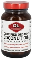 Olympian Labs - Coconut Oil Certified Organic - 60 Softgels LUCKY PRICE