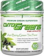 NovaForme - CytoGreens for Athletes Premium Green Superfood Acai Berry Green Tea Flavor - 1.2 lbs.
