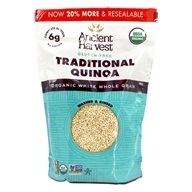 Ancient Harvest Quinoa - Organic Gluten-Free Quinoa Traditional - 12 once.