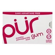 PUR Gum - Sugar Free Chewing Gum Pomegranate Mint - 9 Piece(s)
