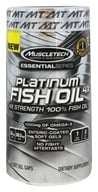 Muscletech Products - Platinum Essential Series Fish Oil 4X - 60 Softgels