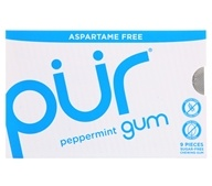 Pur Gum - Sugar Free Chewing Gum Peppermint - 9 Piece(s)