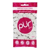 Pur Gum - Sugar Free Chewing Gum Pomegranate Mint - 57 Piece(s)