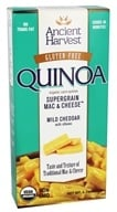 Ancient Harvest Quinoa - Organic Gluten Free Supergrain Quinoa Mac & Cheese Mild Cheddar with Elbows - 6.5 oz.