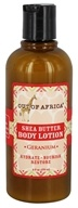 Out Of Africa - Shea Butter Body Lotion Geranium - 9 oz.