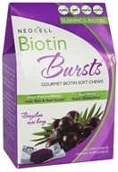 NeoCell - Biotin Bursts Brazilian Acai Berry 10000 mcg. - 30 Soft Chews