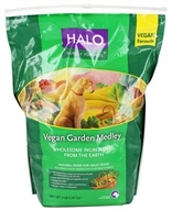 Halo Purely for Pets - Natural Dry Dog Food Vegan Garden Medley - 4 lbs.