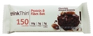 Think Products - thinkThin Lean Protein & Fiber Bar Chocolate Almond Brownie - 1.41 oz.