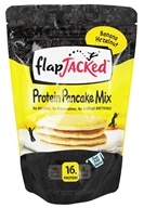 FlapJacked - Protein Pancake Mix Banana Hazelnut - 12 oz.