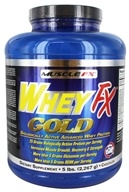 Muscle FX - Whey FX Gold Chocolate - 5 lbs.