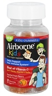 Airborne - Immune Support Gummies for Kids Assorted Fruit Flavors - 21 Count