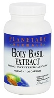 Planetary Herbals - Holy Basil Extract 450 mg. - 120 Capsules