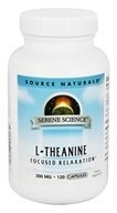 Source Naturals - L-Theanine Focused Relaxation 200 mg. - 120 Capsules