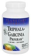 Planetary Herbals - Triphala-Garcinia Program 1180 mg. - 120 Tablets